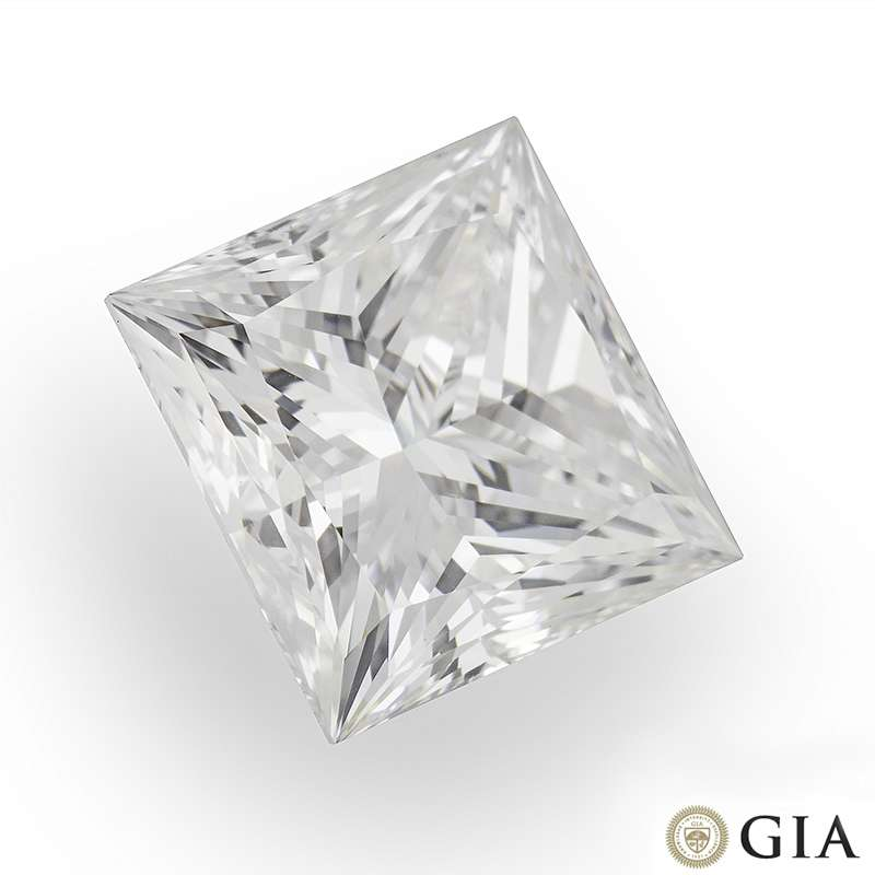 Princess Cut Diamond 2.02ct H/VS2